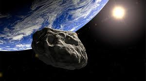 Earth and Asteroid 062813