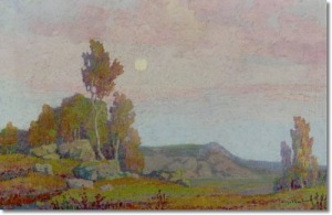 birger-sandzen-the-pale-moon 111313